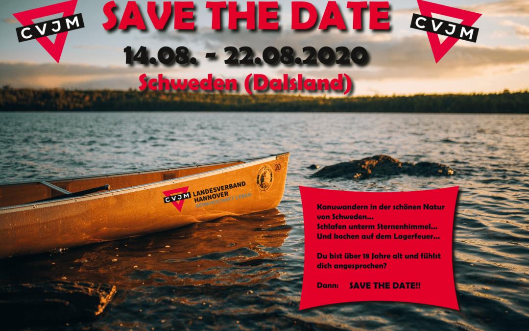 Sommerfreizeit 2020 – Kanuwandern in Schweden