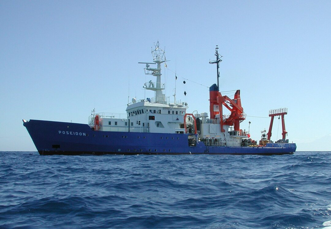 Ehemaliges Forschungsschiff Poseidon