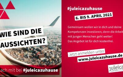 #juleicazuhause – jetzt anmelden!
