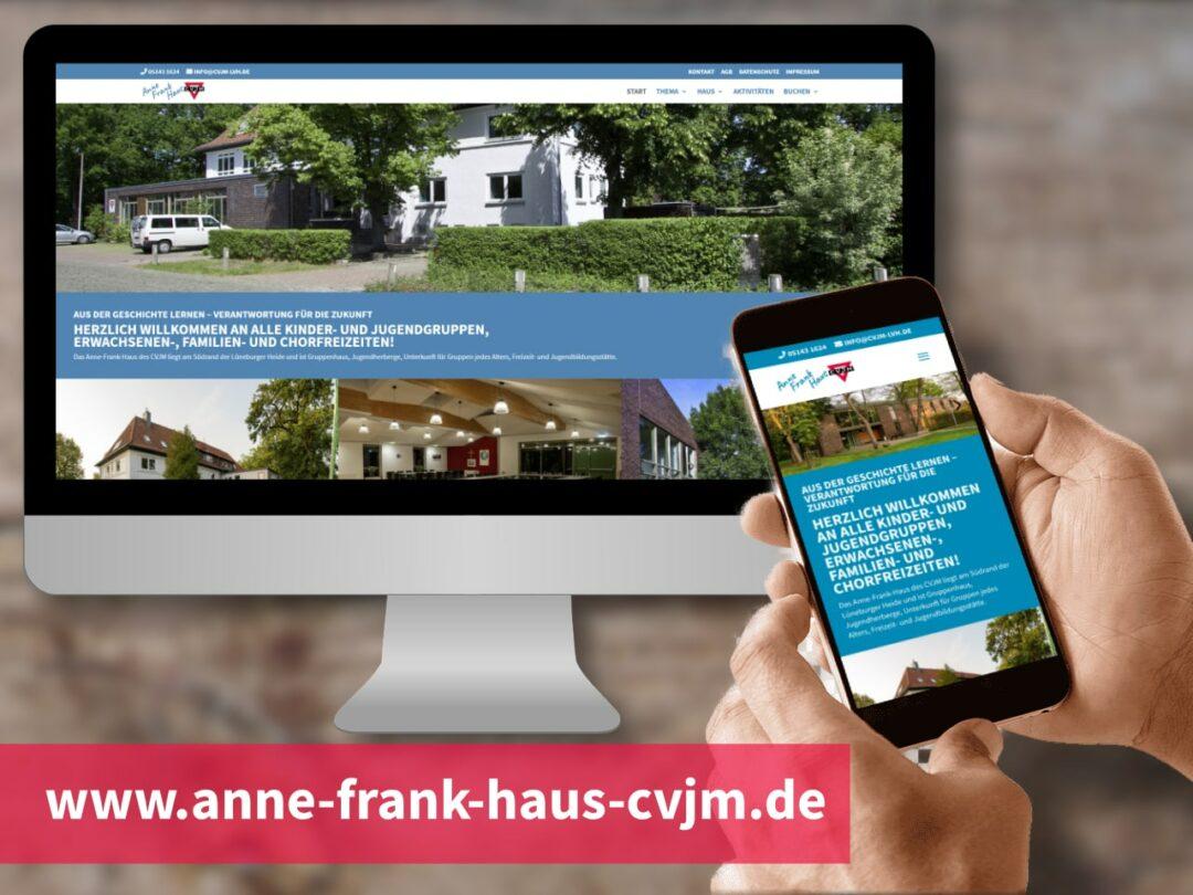 Neue Website des Anne-Frank-Haus