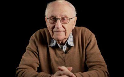 Zeitzeugengespräch Albrecht Weinberg Überlebender Bergen-Belsen – Eyewitness talk Albrecht Weinberg Survivor Bergen-Belsen